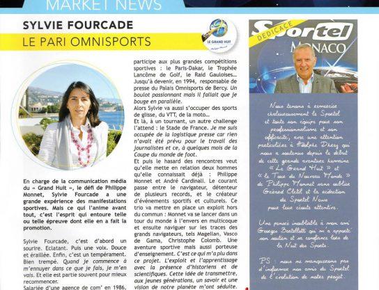 Sylvie Fourcade - agence de communication - dans Sportel News