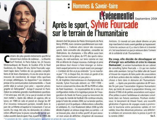 Sylvie Fourcade agence de communication