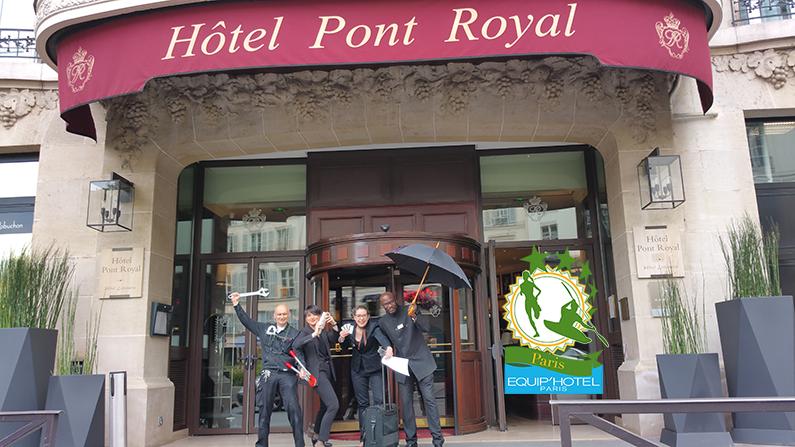 Le 1er Raid Inter-Hôtels Paris – Equip'Hotel à l'assaut de la capitale, le 30 août prochain